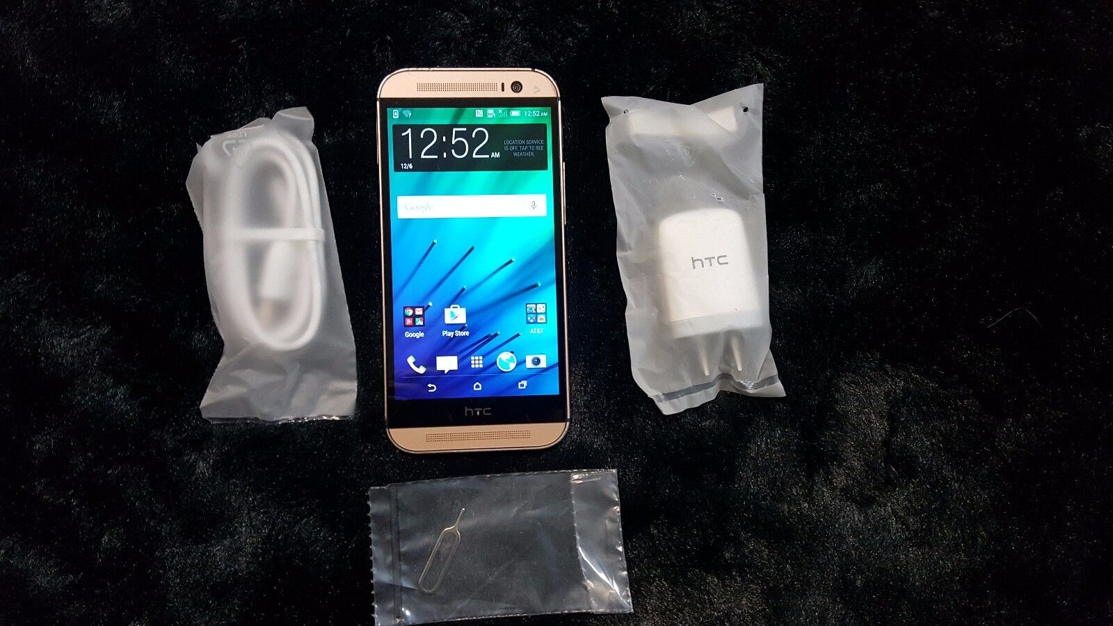 Htc One - PreOwned Used HTC One M8 32GB Gold GSM Unlocked Android 4G LTE Smartphone.