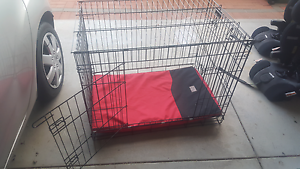 Dog crate with bed Marmion Joondalup Area Preview
