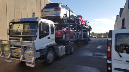 1998 Isuzu 6 car carrier with intro to work if required. Horsley Park Fairfield Area Preview