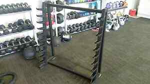 Barbell rack Aberglasslyn Maitland Area Preview