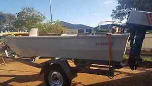 De havilland tinnie 16ft boat Whyalla Whyalla Area Preview