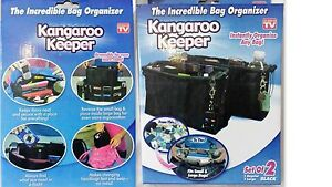 Handbags Purse Organiser Secure Hand bag KANGAROO KEEPER Small & Large 2pc SET