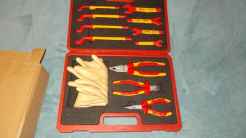 *NEW* BOOHER 0200406 12-Piece 1000V VDE Insulated Tools Set