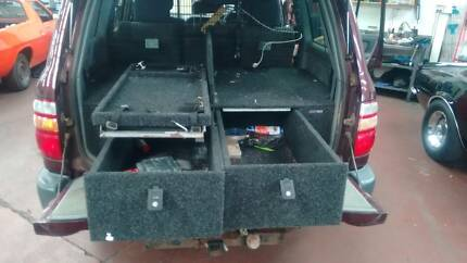 LANDCRUISER STORAGE DRAWERS
