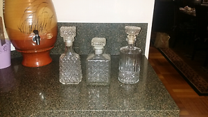 3 decanters $15 for all 3 Lalor Park Blacktown Area Preview
