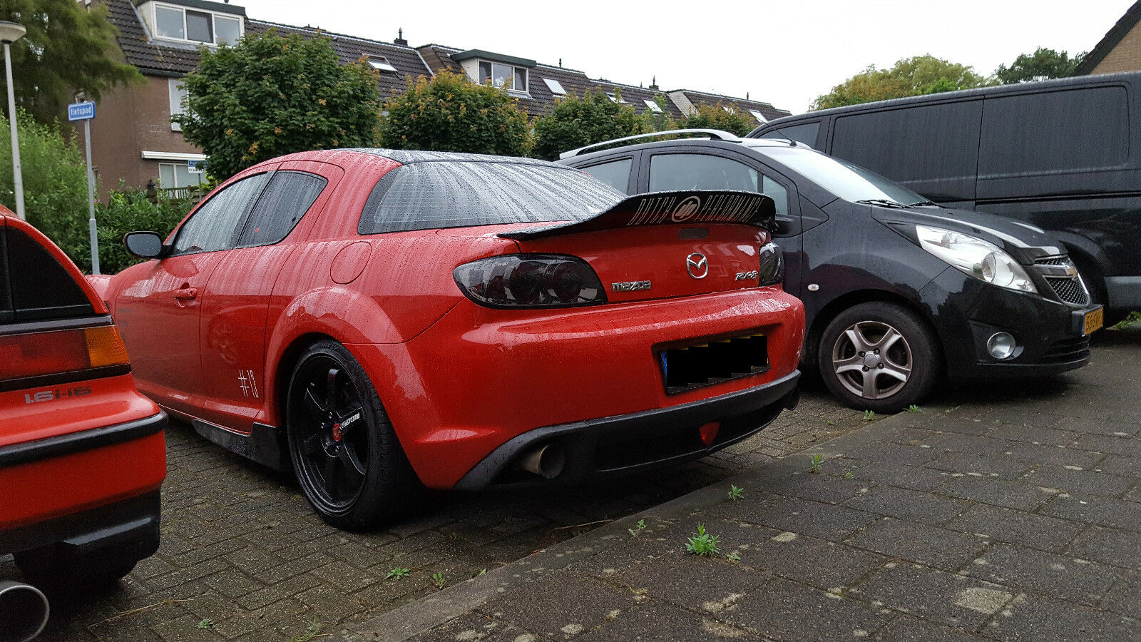 Mazda Rx 8 Duck Tail Look Rear Boot Spoiler Wing For