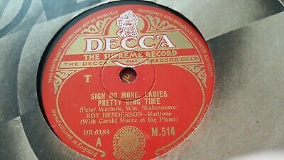 ROY HENDERSON SIGH NO MORE LADIES PRETTY RING TIME DECCA