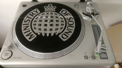 Turntable record player Ministry of Sound MOSTT100P