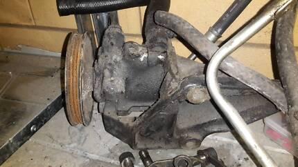Skyline power steering pump and bracket