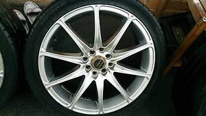 """17"""" Wheels and Tyres 215/40R17 Dandenong South Greater Dandenong Preview"""