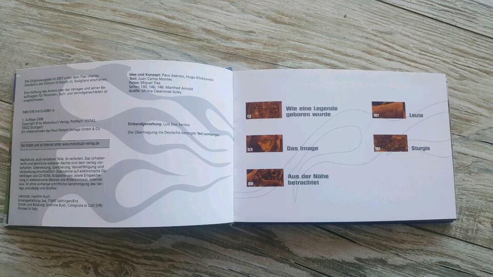 Montes Harley-Davidson, Geschenkbuch / Bildband in Neuhaus