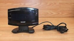 Genuine Sharp (SPC106) Small Bed Side End Table Alarm Clock Only **READ**