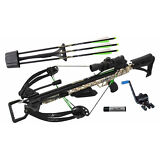 NEW Carbon Express PileDriver 390 Crossbow Package w/ Cranking Device - 20310