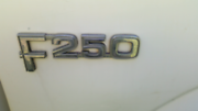Ford f 250 badges   Kandanga Gympie Area Preview