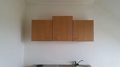 singlek che mit 2 plattenherd und k hlschrank mit 2 sterne gefrierfach ebay. Black Bedroom Furniture Sets. Home Design Ideas