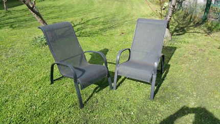 Outdoor chairs.