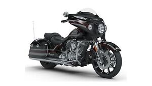 2018 Indian Motorcycles Chieftain Limited Thunder Black Pearl Gr