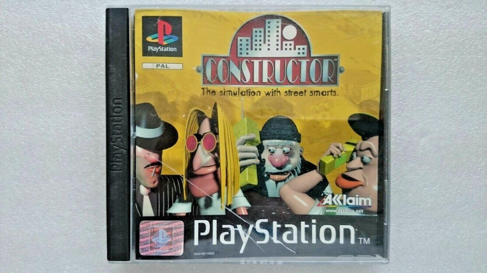 Constructor (Sony PlayStation 1, 1998)