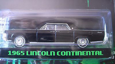 GREENLIGHT 1/64 1965 LINCOLN CONTINENTAL MATRIX HOLLYWOOD S17 NEW