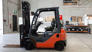 Toyota 8FG18 Great reliable Forklift LPG / Petrol Counterbalance Luscombe Gold Coast North Preview