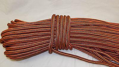 "1/2"" x 100' Double Braid Rope, Arborist Bull Rope, Rigging Line, Hoist Line, NEW"