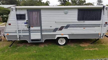 coromal 5.5 seka poptop caravan Barnsley Lake Macquarie Area Preview