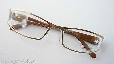More and More ausggefallene Brillenfassung Markenbrille für Frauen neu Grösse M
