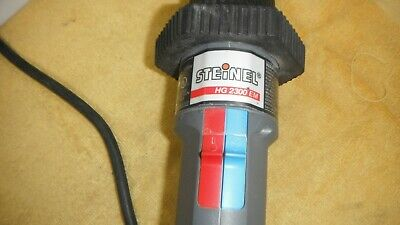 Plastic Welding Steinel Hg-2300 E Industrial Heat Gun Wvariable Blowertemp