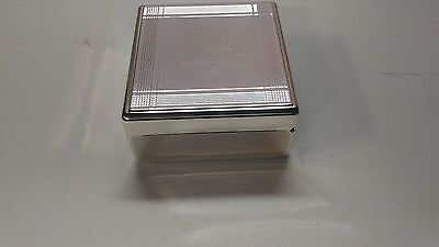 Stunning Silver Things Remembered  Trinket Box