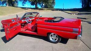 1964 FORD FALCON FUTURA CONVERTIBLE (LEFT HAND DRIVE)