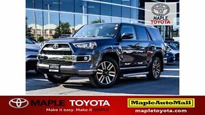 2018 Toyota 4Runner LIMITED - NAVIGATION LEATHER MOONROOF 7 PASS