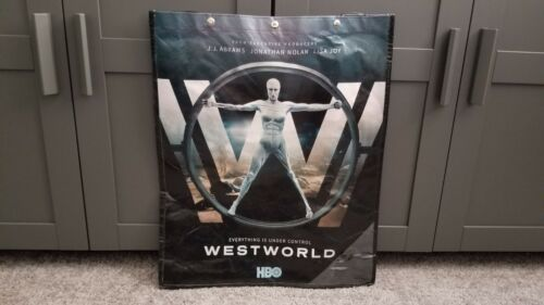 HBO WESTWORLD SWAG BAG TOTE BACKPACK SDCC 2017 Comic Con EXCLUSIVE 23 x19  - $10.00