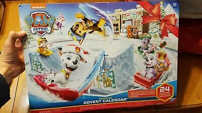 Paw Patrol Advent Calendar Christmas Countdown 24 Surprises Pups Nickelodeon