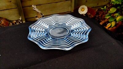 "Duncan Miller Caribbean Blue # 112 6¼"" Bread and Butter / Sherbet Plate"