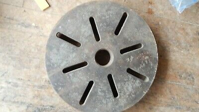 13 Southbend Lathe 11 Inch Faceplate 8 Threads Per In. 1-34 Dia Face Plate