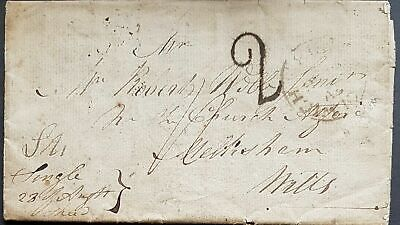 NSW 1818 convict letter. A sensational item with extensive research.