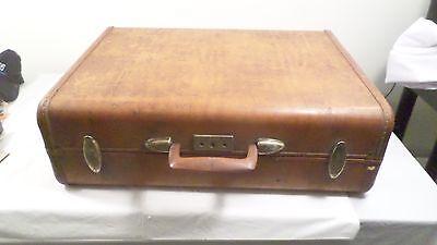 Vintage Samsonite Streamlite Hard Suitcase Train Bag Luggage