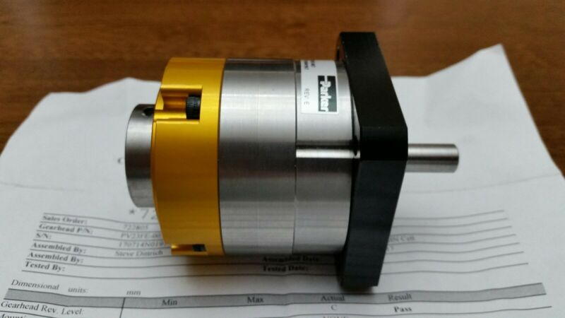 Parker PV23FE-007 In Line Planetary Gearhead Square Flange Face (NEW)