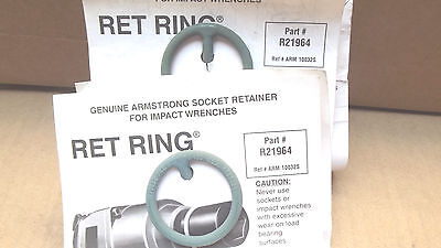 """5 RET RINGS # 21-964-(2-13/16"""" OD)REF#10032 ,NOT IN BOX,MADE IN USA"""