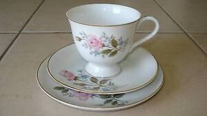 Vintage Tea Cup Trio ❀ Ideal for High Teas Beaudesert Ipswich South Preview