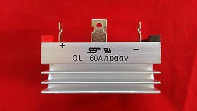 Ql60a Bridge Rectifier 1000v 60a Heat Sink Compound Usa Free Shipping