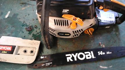 Ryobi chainsaw needs chain adjuster replaced