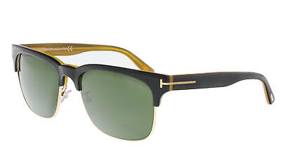 Tom Ford FT0386 05N Louis Black/Gold Square (Tom Ford Square Sunglasses)