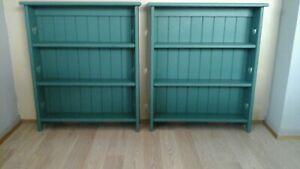 Timber shelving