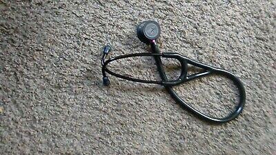 Littmann 6152 Cardiology Iv Stethoscope 27in. - Black With Violet Stem