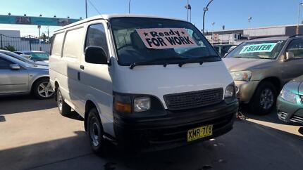 2001 Toyota Hiace Van ! Fully Serviced & Inspected !! Granville Parramatta Area Preview