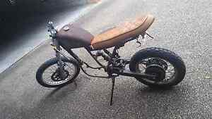 Suzuki Cafe Racer Scrambler Build 1991 Dakar Project Taringa Brisbane South West Preview