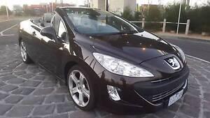 2009 Peugeot 308 CC Convertible - Auto - Low kms - Rego 09/17 Docklands Melbourne City Preview