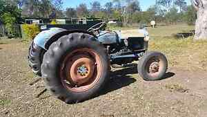 Old ford tractor Churchable Lockyer Valley Preview