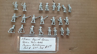 15mm Old Glory  Seven Years War  Prussian - 9 Year Old Games